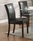 Bi-Cast Vinyl Chair Alouette by Homelegance EL-3276S-CR (Set of 2)