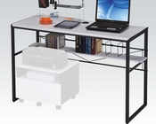 Black and White Computer Desk by Acme Furniture AC92072