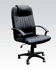 Black Bonded Office Chair w/ Pneumatic Lift by Acme AC02336