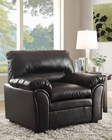 Black Chair Talon by Homelegance EL-8511BK-1