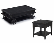 Black Coffee Table Set Sheffield by Magnussen MG-T3165SET