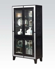 Black Crocodile Curio by Acme Furniture C90171