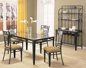 Black Dining Set Douglas by Acme Furniture AC08285SET