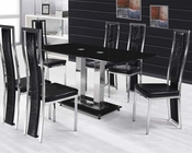 Black Dining Set Jercy by Acme Furniture AC71400SET