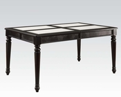 Black Dining Table Caree by Acme Furniture AC71550