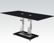 Black Dining Table Jercy by Acme Furniture AC71400