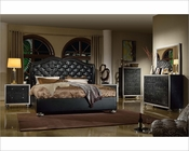 Black Finish Bedroom Set MCFB1701SET