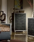 Black Finish Chest MCFB1701-C