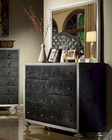 Black Finish Dresser w/ Mirror MCFB1701-DM