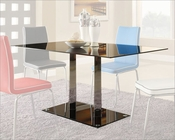 Black Glass Dining Table Goran by Homelegance EL-2534