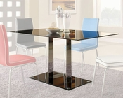 *Black Glass Dining Table Goran by Homelegance EL-2534