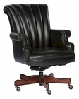Black Leather Executive Chair by Hekman HE-79251B
