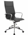 Black Leatherette Office Chair in Contemporary Style 44F15-BLK