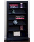 Black Open CD/ DVD Rack by Sunny Designs SU-2250B