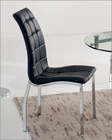 Black Upholstered Dining Chair 33-365BL (Set of 2)