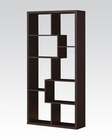 Bookcase in Cappuccino by Acme Furniture AC92089