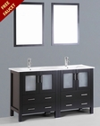 Bosconi 60in Double Integrated Sink Vanity BOAB230U