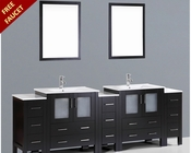 Bosconi 96in Double Integrated Sink Vanity BOAB230U3S