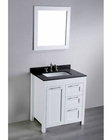Bosconi Bathroom 30in Contemporary Single Vanity BOSB-267-1 (White)