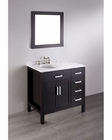 Bosconi Bathroom 36in Contemporary Single Vanity BOSB-2105