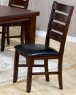 Brown Cherry Finish Side Chair CO-101882 (Set of 2)