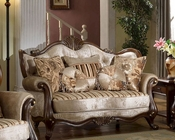 Brown Loveseat in Traditional Style MCFSF8700-L