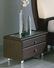 Brown Night Stand Isabel in Modern Style Made in Spain 33B353