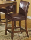 Brown Pub Chair CO-100358 (Set of 2)