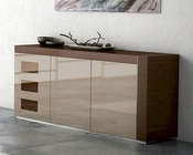 Buffet Inez in Cappuccino Finish European Design Made in Spain 33D134