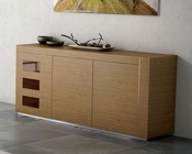 Buffet Inez in Walnut Finish European Design Made in Spain 33D144