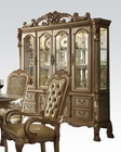 Buffet w/ Hutch Dresden Gold by Acme Furniture AC63155