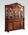 Buffet w/ Hutch in Tobacco Nathaneal by Acme Furniture AC62314