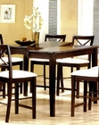 Cappuccino Finish Dining Table CO-5846