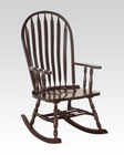 Cappuccino Finish Rocking Chair by Acme Furniture AC59212