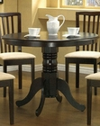Cappuccino Pedestal Dining Table CO-101081