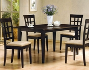 Cappuccino Wood Dinette Set CO-100771s