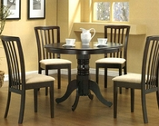 Cappuccino Wood Dinette Set CO-101081s