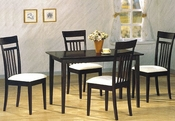 Cappuccino Wood Dinette Set CO-4430s