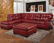 Cardinal Finish Sectional Sofa Set Shi by Acme Furniture AC50440SET