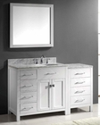 Caroline Parkway White Bathroom Set by Virtu USA VU-MS-2157L-WM-WH