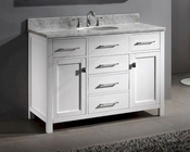 Caroline White 48in Bathroom Vanity by Virtu USA VU-MS-2048-CAB-WH