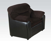 Chair Connell Chocolate by Acme AC15977