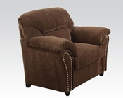 Chair Patricia Dark Brown by Acme AC50132