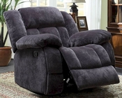 Charcoal Reclining Glider Chair Laurelton by Homelegance EL-9636CC-1