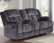 Charcoal Reclining Loveseat Laurelton by Homelegance EL-9636CC-2