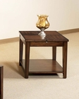 Cherry Finish End Table Davis by Somerton SO-625-02