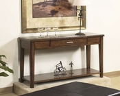 Cherry Finish Sofa Table Davis by Somerton SO-625-05