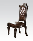 Cherry Side Chair Vendome by Acme Furniture AC62004 (Set of 2)