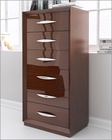 Chest Modern Style in Walnut Carmen 33160CR