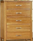 Chest in Light Oak Finish Firefly County by Ayca AY-22-0625